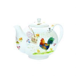 Czajnik do herbaty z zaparzaczem 1 l Nuova R2S Romantic kogut Dzbanki