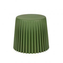 Taboret śr. 47cm King Home Cap butelkowa zieleń