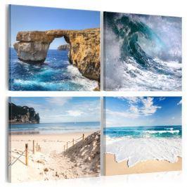 Obraz - Piękno oceanu (40x40 cm)