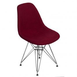 Krzesło P016 DSR Duo D2 bordowo-szare Krzesła i taborety