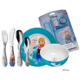 Zestaw dla dzieci 6 el. WMF Frozen + gratis Pozostałe zabawki