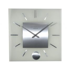 Zegar ścienny 40 cm NeXtime Stripe Pendulum Square