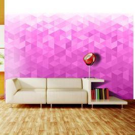Fototapeta - Różowy piksel (300x210 cm) Fototapety