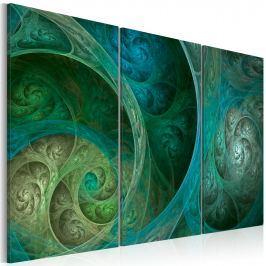Obraz - Inspiracja Orientem w turkusie (60x40 cm)