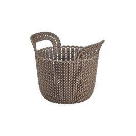 Koszyk 3 L Curver Knit szarobrązowy Pojemniki kuchenne