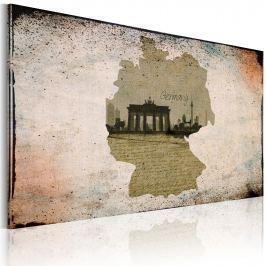 Obraz - Brama Brandenburska - fotografia (60x40 cm)