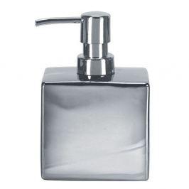 Dozownik do mydła 10x15cm Kleine Wolke Glamour srebrny