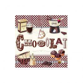 Serwetki deserowe 20 szt. Nuova R2S Napkins Chocolate Obrusy serwetki i bieżniki