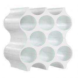 Stojak na butelki Koziol Set-up biały