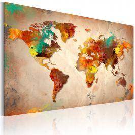 Obraz - Painted World (60x40 cm) Obrazy i plakaty