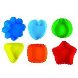 Foremki na muffinki 6 sztuk Pavoni kolorowe Foremki