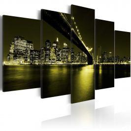 Obraz - Niezapomniana noc w Nowym Jorku (100x50 cm) Obrazy i plakaty