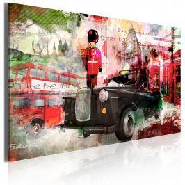 Obraz - Wspomnienia z Londynu (60x40 cm)