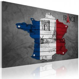 Obraz - Symbole Francji (60x40 cm)