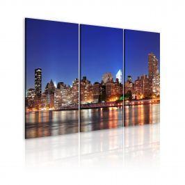 Obraz - NYC - miasto miliona świateł (60x40 cm)