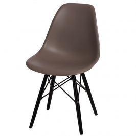 Krzesło P016W PP D2 Szare
