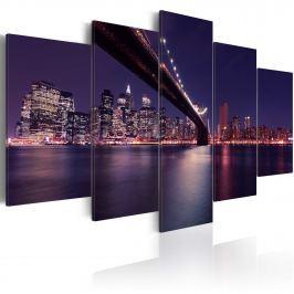 Obraz - Ostatnia noc w Nowym Jorku (100x50 cm)