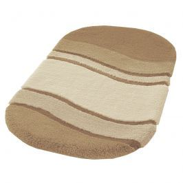 Dywanik łazienkowy 60x100 cm Kleine Wolke Siesta piaskowy