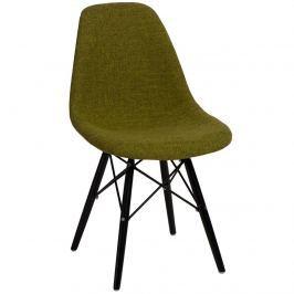 Krzesło P016W Duo D2 zielono-szare/black
