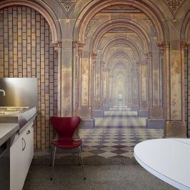 Fototapeta - The chamber of secrets (200x154 cm)