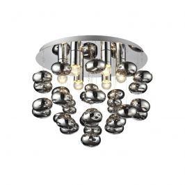 Plafon Tivoli 6 Lampex chrom-srebrny