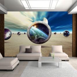 Fototapeta - Spacer planet (300x210 cm)