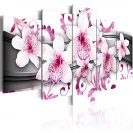 Obraz - Przyjemność wśród różu (100x50 cm)