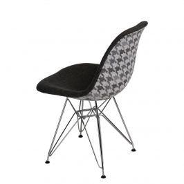 Krzesło P016 DSR Pattern D2 szare/pepitka