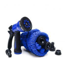 Rozciągliwy wąż ogrodowy 22,5m (75FT) Xhose + pistolet niebieski