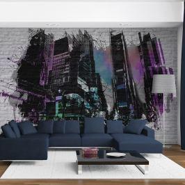 Fototapeta - Za murami miasta (200x154 cm)