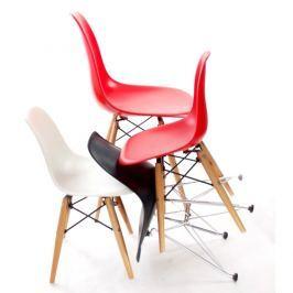 Krzesło Junior P016 drewniane nogi czarne