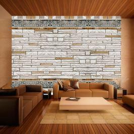 Fototapeta - Kamienna mozaika (300x210 cm)