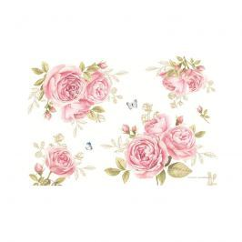 Mata stołowa 45x30cm Nuova R2S Romantic róże