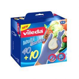 Rękawice jednorazowe 50 szt. S/M Vileda Multi Sensitive