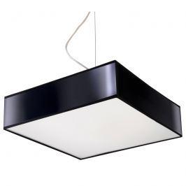 Lampa wisząca 35x35cm Sollux Lighting Horus czarna
