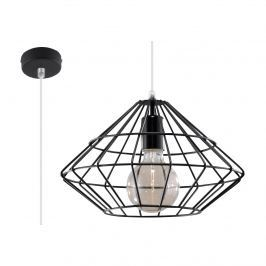 Lampa wisząca 100x33x33cm Sollux Lighting Umberto czarna