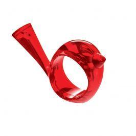 Pierścień do serwetek Koziol Pi:p czerwony