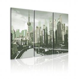 Obraz - Inspirowane Szanghajem, Chiny (60x40 cm)