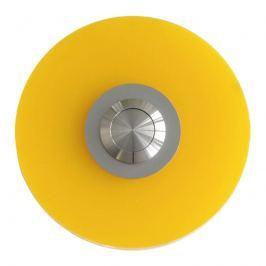 Przycisk dzwonka Max Knobloch Dover Poly żółty