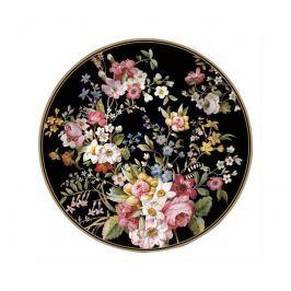 Talerz deserowy 19cm Nuova R2S Blooming Opulence czarny
