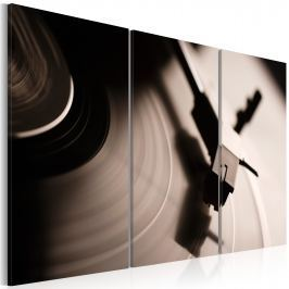 Obraz - Stylowy gramofon (60x40 cm)