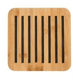 Bambusowa kwadratowa podstawka 20x20cm Ladelle Classic czarna