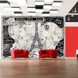 Fototapeta - Bonjour Paris (300x210 cm)