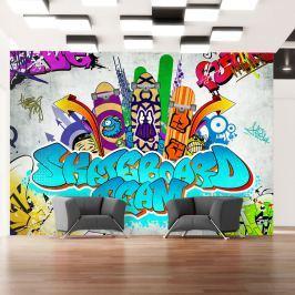 Fototapeta - Skateboard team (300x210 cm)