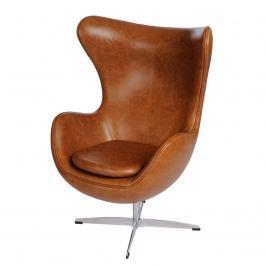 Fotel Jajo vintage Premium D2 brązowy jasny