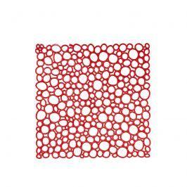 Panele dekoracyjne 4 szt. Koziol Oxygen czerwone