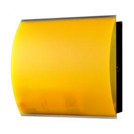 Skrzynka na listy Max Knobloch Kansas żółta