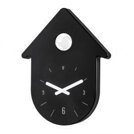 Zegar ścienny 24cm Koziol Toc Toc czarny