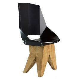 Krzesło stalowe 94,5 cm Gie El czarne