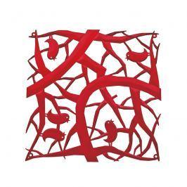 Panele dekoracyjne 4 szt. Koziol Pi:p czerwone